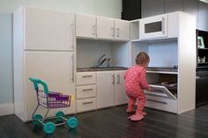 I built a play kitchen. Check out the full project http://ift.tt/2jAxLHh Don't Forget to Like Comment and Share! - http://ift.tt/1HQJd81
