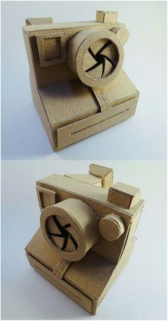 Diy cardboard Polaroid camera