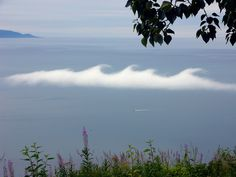 A Kelvin-Helmholtz formation over Homer, Alaska.