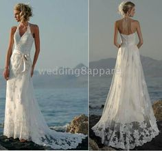 Wedding On Beach Gowns - The Wedding SpecialistsThe Wedding ...