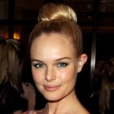 kate bosworth balerina bun updo hairstyle