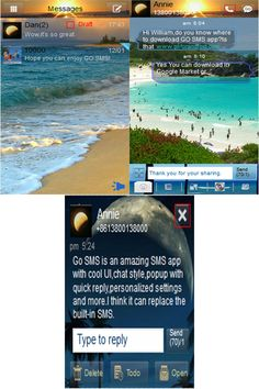 21 Best GO SMS Pro Themes images in 2012 | Android, App