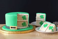 Hungry Happenings: Leprechaun Hat Shamrock Surprise Cake for Tablespoon.com