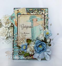 My Creativity Life. Wendy Schultz ~ Graphic 45 Cards & Layouts.