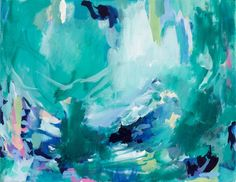 Look what we just added to Amira Rahim's online shop! http://www.amirarahim.com/products/swimming-in-the-cenote-16x20-original-abstract-painting?utm_campaign=social_autopilot&utm_source=pin&utm_medium=pin