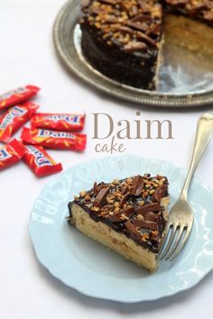 Daim Cake - masam manis Cocoa Brownies, Brownie Cake, Daim Cake, Cake Recipes, Dessert Recipes, Desserts, Cupcake Cakes, Cupcakes, French Toast