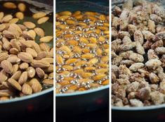 Sugar Roasted Almonds are super easy to make. They are as good (or even better) as bought ones! Perfect for the winter and christmas-y time.