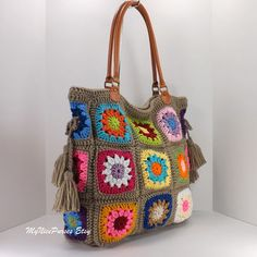 Shop Granny Square Bag on Wanelo