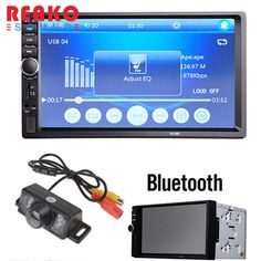==> [Free Shipping] Buy Best REAKOSOUND Car video player 7 Inch LCD HD Double DIN Car In-Dash Touch Screen Bluetooth Car Stereo FM MP3 MP5 Radio Player Online with LOWEST Price | 32621728617