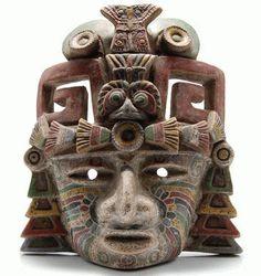 Mascara de Teotihuacan  Museo del sitio