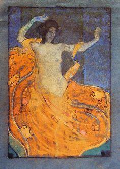 Drawing by Josef Maria Auchentaller Vienna Secessionist. Koloman Moser, Art Nouveau, Art Deco, Gustav Klimt, Poster Art, Design Poster, The Doors Of Perception, Vienna Secession, Vintage Artwork