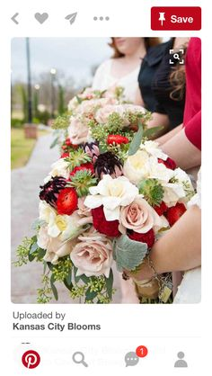 Fun textural bouquets from the Senterpiece