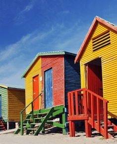 @ RSA beach - colours for inspiration