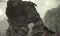 E3 2017: Sony revela remasterização de Shadow of Colossus no PS4 para 2018