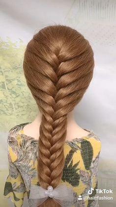 Bun Hairstyles For Long Hair, Braids For Long Hair, Girl Hairstyles, Step Hairstyle, Hairstyles Videos, Office Hairstyles, Anime Hairstyles, Stylish Hairstyles, School Hairstyles