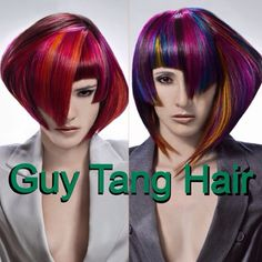 Many of you guys don't realize before my ombré days I do a lot of edutorial work! from high fashion avant garde hair colors and cutting edge cuts! Here are some of my work that doesn't see the spotlight enough