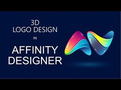 How to Create a Logo in Affinity Designer Tutorial Hey everyone, welcome! in this tutorial, you can learn about how to make a logo in Affinity Designer softw. Photoshop Logo Tutorial, Photoshop Design, Logo Design Tutorial, Tool Design, Web Design, How To Make Logo, Create A Logo, Illustrator Tutorials, Adobe Illustrator