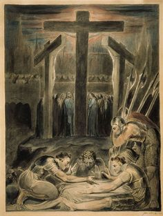 Soldiers Casting Lots for Christ's Garments by William Blake (1800)