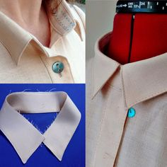 Sewing Collars : 10 Tips 'n' Tricks! Sewing Tutorials, Sewing Hacks, Sewing Patterns, Sewing Tips, Sewing Ideas, Sewing Projects, Sewing Collars, Collar Tips, Sewing Lessons