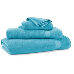 Ralph Lauren Home Wescott Wash Cloth ($11) ❤ liked on Polyvore featuring home, bed & bath, bath, bath towels, peacock blue, cotton washcloths, plush bath towels, cotton bath towels and ralph lauren home