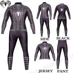 Black Venom Spiderman cosplay costume fancy dress halloween suit M-xxl