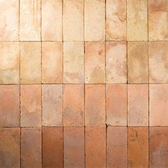 Malina Terracotta by Gather Co. Terracotta Floor, Brick In The Wall, Tiles Texture, Stone Tiles, Architecture Details, Textures Patterns, Tile Floor, Flooring, Design