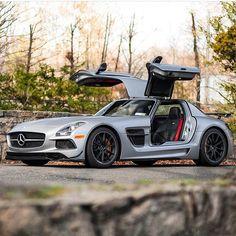 Mercedes Benz SLS AMG Black Series #MercedesSLSAMG