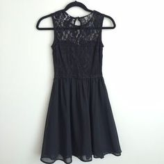 Divided Dresses & Skirts - Divided by H&M fit and flare black dress