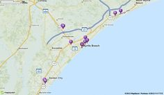Mapquest Driving Directions Myrtle Beach Sc