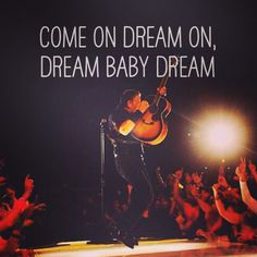 ...may be my new fave Bruce song: Dream Baby Dream