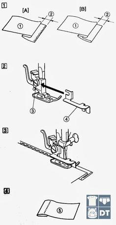 El pie prénsatela para dobladillo invisible también conocido como dobladillo ciego es otra herramienta de gran utilidad. Hay mucha confus...