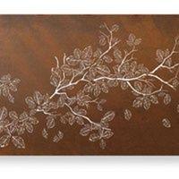 Falling Birch Outdoor Laser Cut Wall Art  $2250