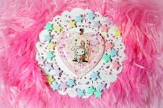 Sentimental Circus Shappo Heart Necklace
