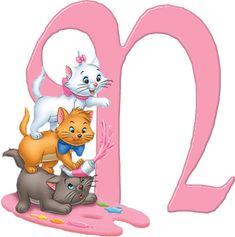 N Aristocats Alphabet (Oh My Alfabetos!)
