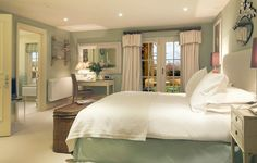 Calcot Manor - Bedrooms | Nicky FarquharNicky Farquhar