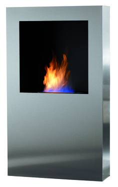 Cubico XL Safretti Fireplace Collection - #Fireplace #InteriorDesign #Fire #Safretti