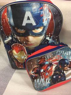 1d070a0e2d6a New Marvel Captain America Civil War Boys 16