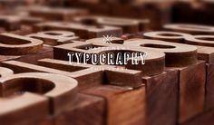 Wooden letterpress calendar by Pavel Emelyanov, via Behance