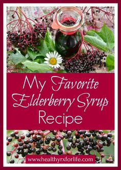 My Favorite Elderberry Syrup Recipe Homemade elderberry syrup is fun and easy to make! Protect your family with this timeless herbal remedy this cold and flu season! Home Remedies For Colds For Babies, Home Remedies For Uti, Flu Remedies, Holistic Remedies, Natural Home Remedies, Herbal Remedies, Health Remedies, Elderberry Recipes, Elderberry Syrup