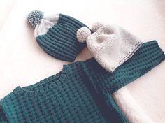 Truitje en mutsen gebreid met Merino baby van Katia Yarn. Fashion, Moda, Fashion Styles, Fashion Illustrations