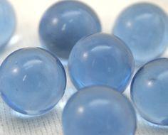 Periwinkle blue marbles