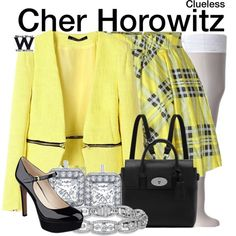 Inspired by Alicia Silverstone as Cher Horowitz in 1995's Clueless.