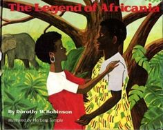 1975 Author Award Winner: Dorothy Robinson, author of The Legend of Africana