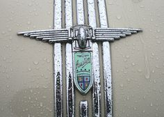 Austin A90 Atlantic bonnet badge. by Albert S. Bite, via Flickr