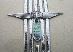 Austin A90 Atlantic bonnet badge. by Albert S. Bite, via Flickr