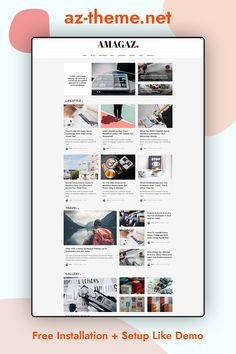 Amagaz is a modern WordPress Theme that lets you write articles and blog posts with ease. We offer great support and friendly help. This theme is excellent for a news, newspaper, magazine, or publishing site. Make your content more appealing, engaging and usable. Get Amagaz today and be setup in minutes!