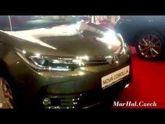 TOYOTA COROLLA - AUTOSHOW PRAHA - PRAGUE 2016 - SONY XPERIA Z2 HD VIDEO
