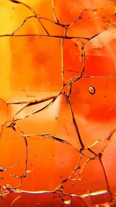 Orange | Arancio | Oranje | オレンジ | Colour | Texture | Style | Form | Pattern | Cracked Orange