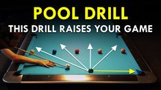 In this pool lesson I am showing you a very nice drill to improve. This a essential positional shot in pool. If you are able to execute this drill, your posi. Billiards Bar, Billards Room, Pool Sticks, Basement Bar Designs, Basement Ideas, Pool Rules, Pool Workout, Play Pool, Bar Games