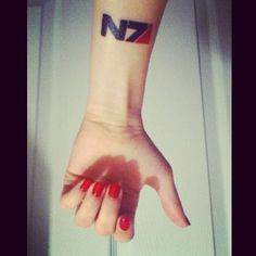 ... mass effect tattoo. RepinLikeView Pic